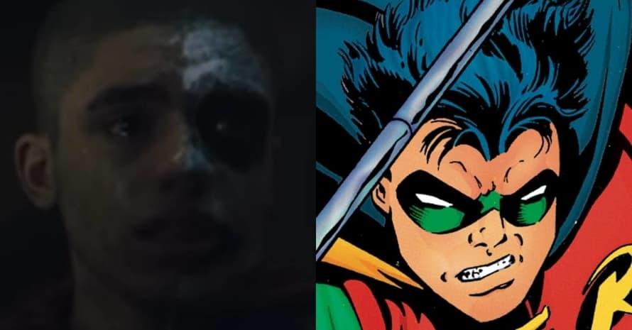 Jay Lycurgo Tim Drake Robin Titans The Batman