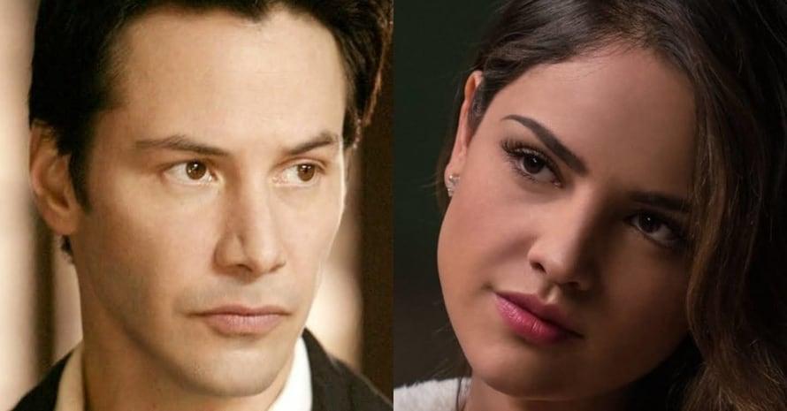<div>See Eiza Gonzalez & Keanu Reeves As DCEU Zatanna & Constantine</div>