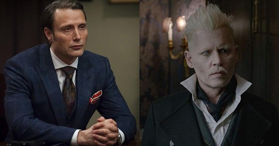 Mads Mikkelsen Fantastic Beasts 3 Johnny Depp