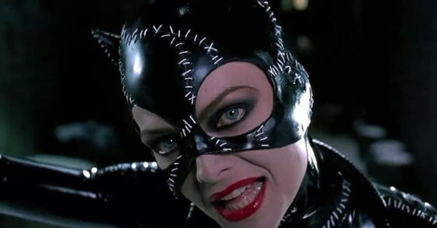 Michelle Pfeiffer Ezra Miller Catwoman The Flash Batman Returns