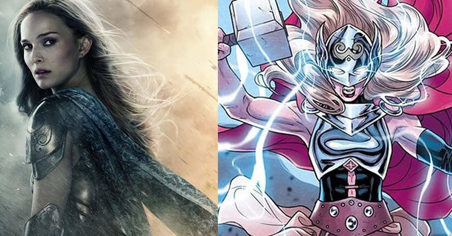 Natalie Portman Becomes Mighty Thor In New 'Love and Thunder' Pic