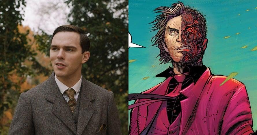 Nicholas Hoult Two-Face The Batman Robert Pattinson