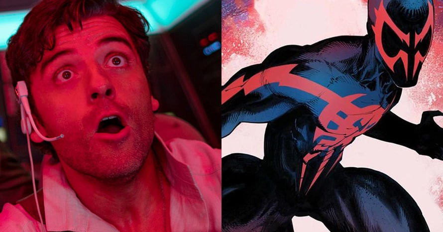 'Spider-Verse 2': New Images Tease Oscar Isaac's Spider-Man 2099