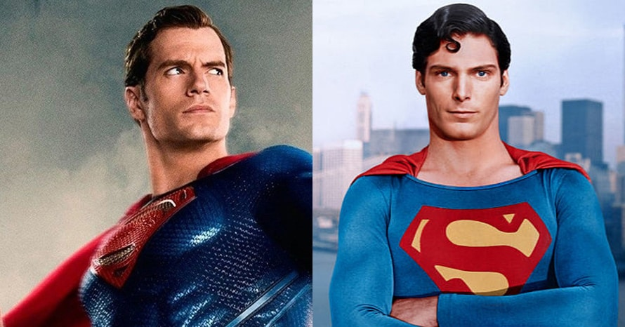 See Henry Cavill Step Into The Classic Christopher Reeve Superman Suit