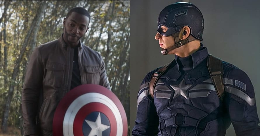 See Anthony Mackie As Captain America In Falcon And The Winter Soldier