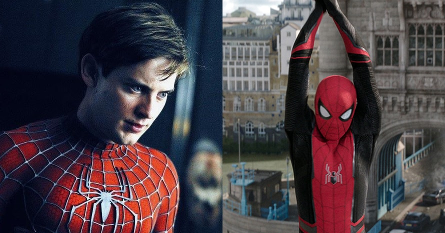 Tobey Maguire Spider-Man 3 Tom Holland Disney Plus Sony Marvel