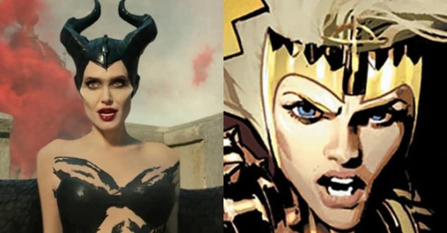 Angelina Jolie Eternals Marvel Studios Thena