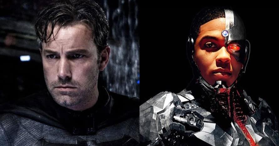 Batman Cyborg Justice League