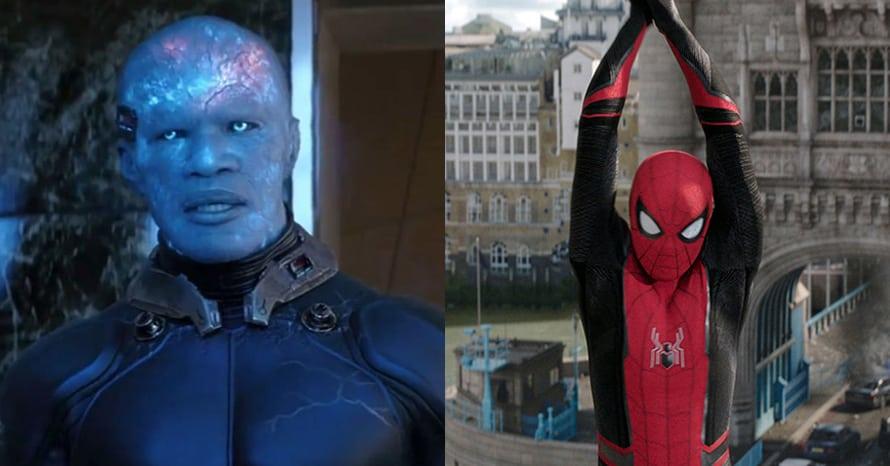 Electro Spider-Man 3 Jamie Foxx Tom Holland
