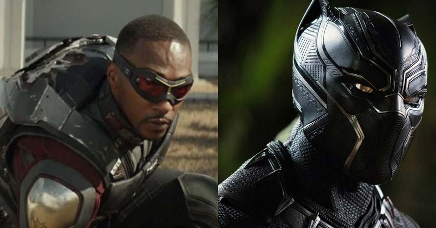 Falcon and the Winter Soldier Black Panther Anthony Mackie Chadwick Boseman Marvel