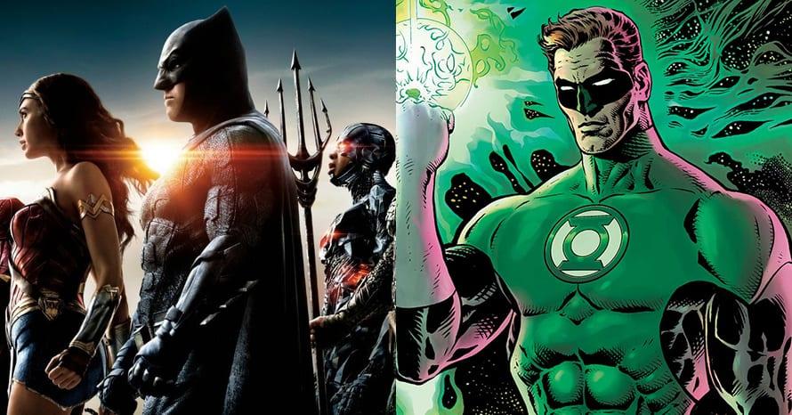 Justice League Green Lantern Zack Snyder
