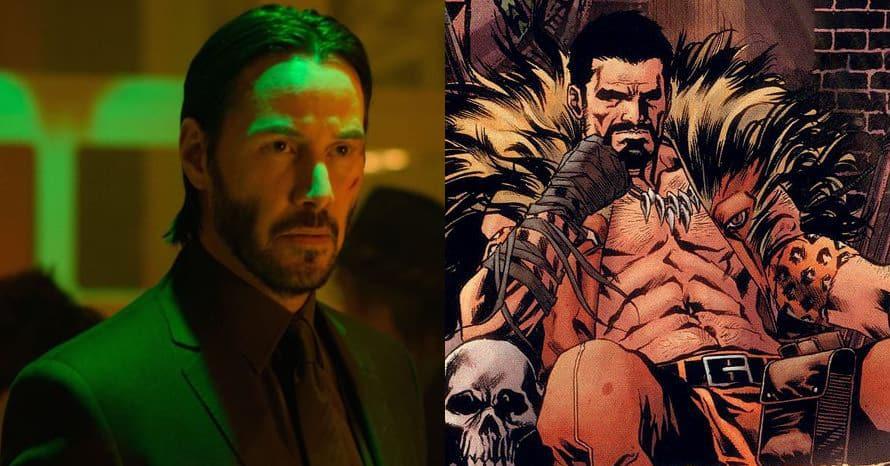 Keanu Reeves Kraven Sony Spider-Man