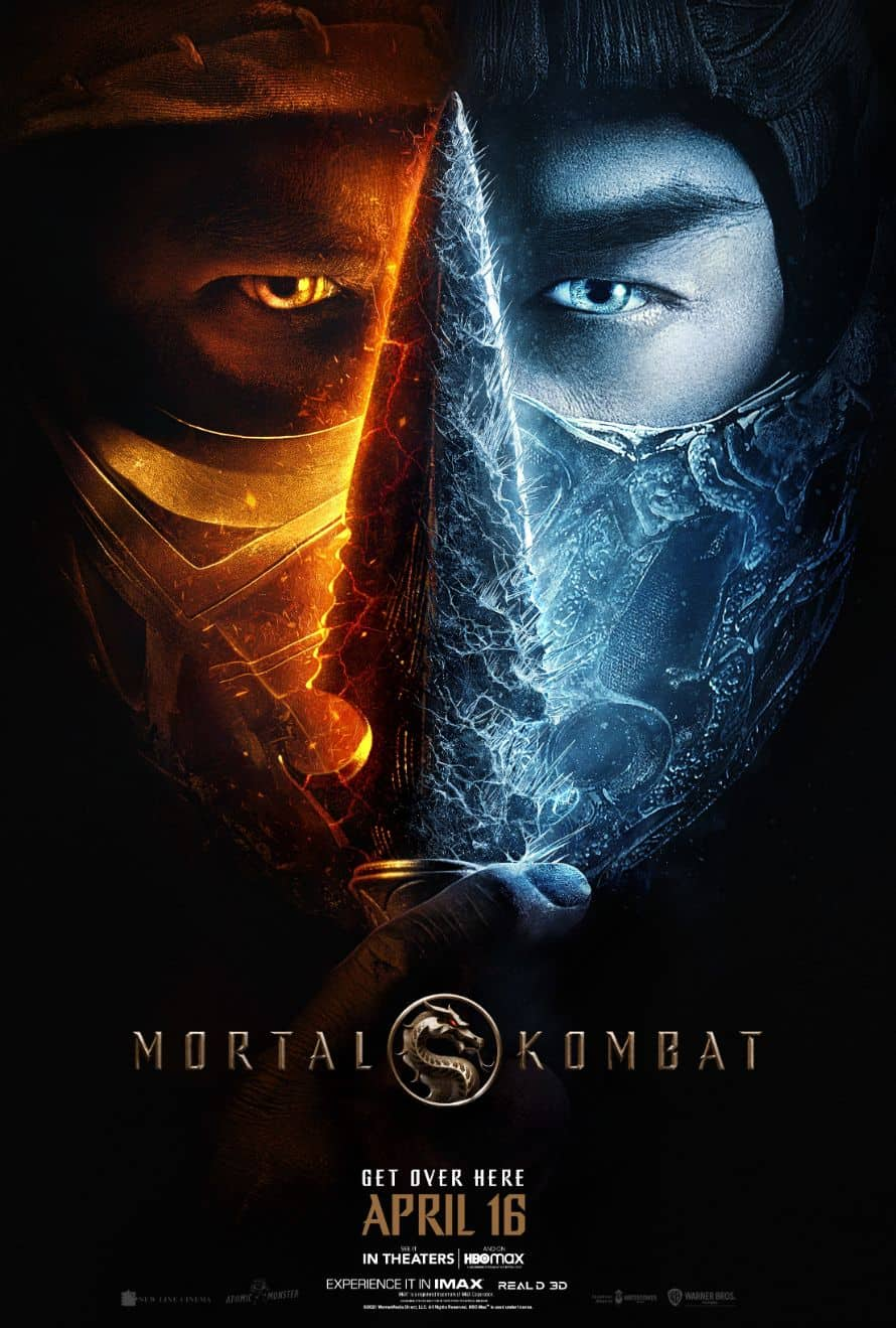 Mortal Kombat Movie Poster Scorpion Sub-Zero