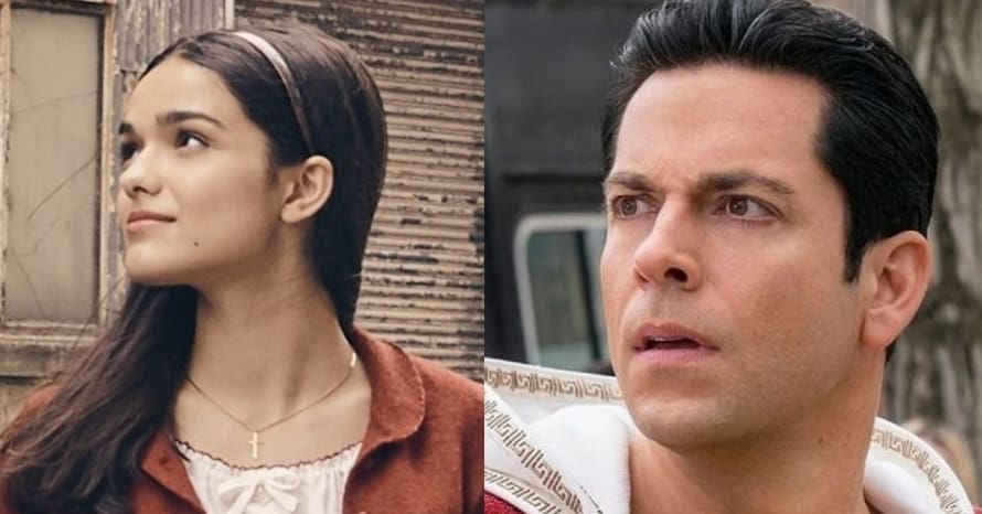 Rachel Zegler Zachary Levi Shazam Fury of the Gods