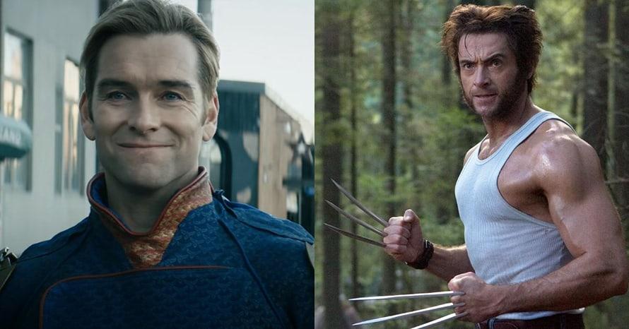 The Boys Antony Starr Wolverine Hugh Jackman