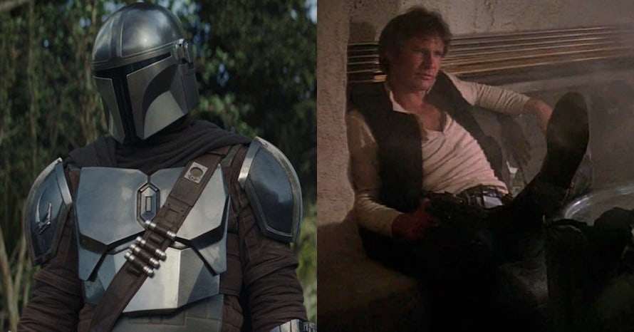 The Mandalorian Han Solo Star Wars
