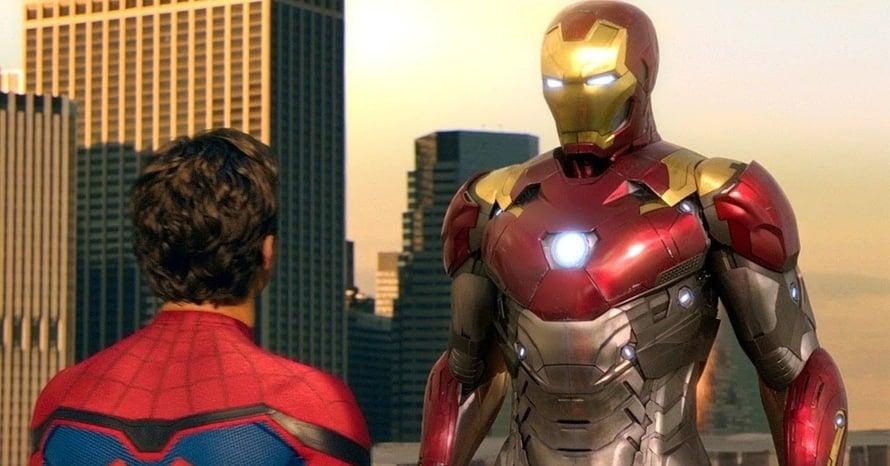 Tom Holland Robert Downey Jr. Spider-Man Iron Man