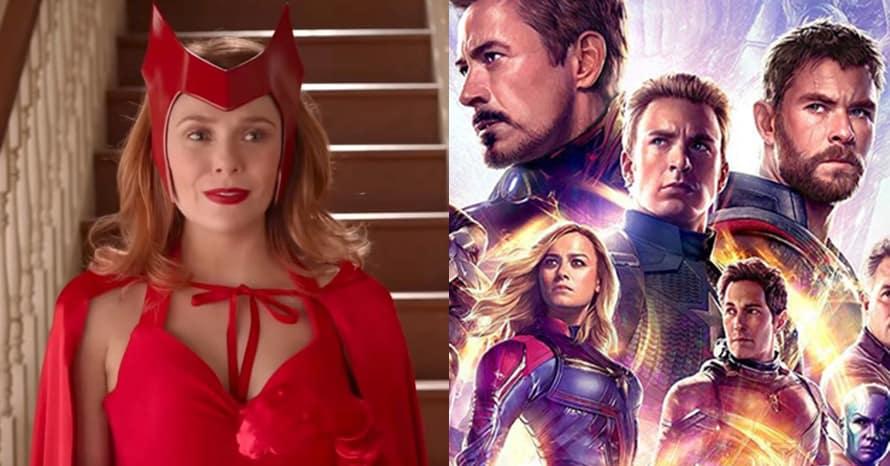 WandaVision Marvel Elizabeth Olsen