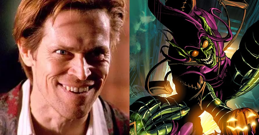 Willem Dafoe dodges the question about upcoming projects