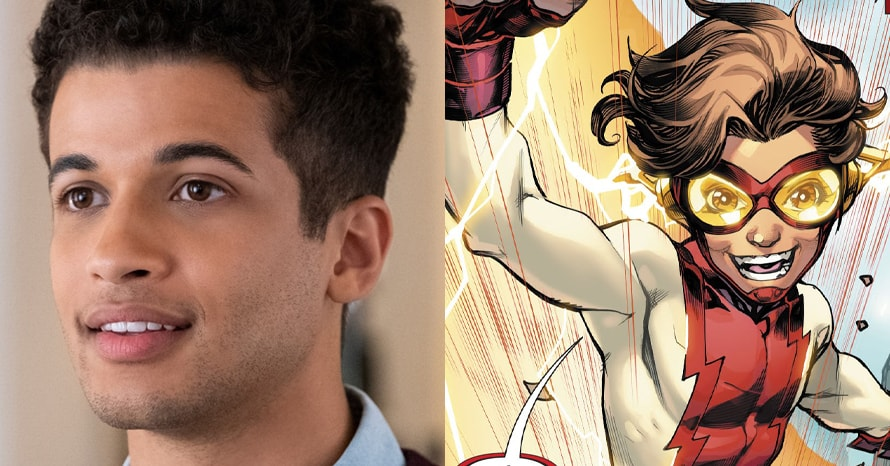 See Jordan Fisher As Bart Allen On Grant Gustin's 'The Flash'