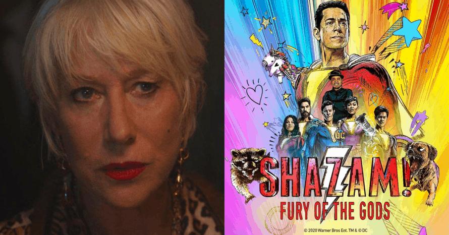 Shazam! Fury Of The Gods Helen Mirren Zachary Levi