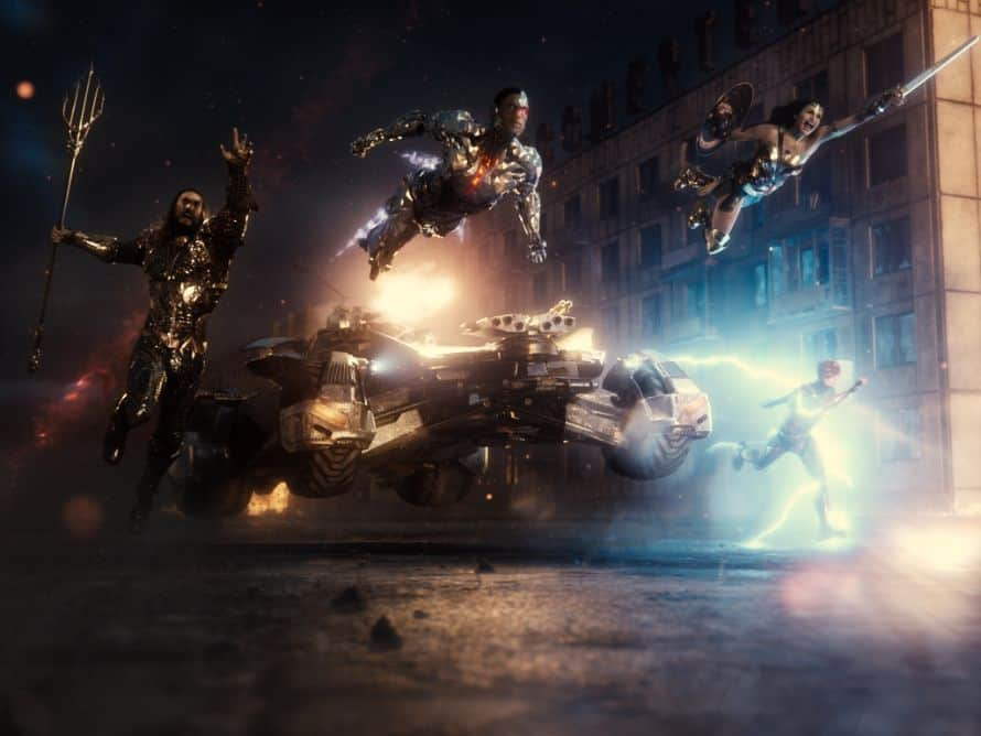 Justice League Zack Snyder Cut Team Action Image