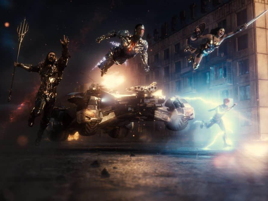 Justice League Zack Snyder Cut Team Action Image