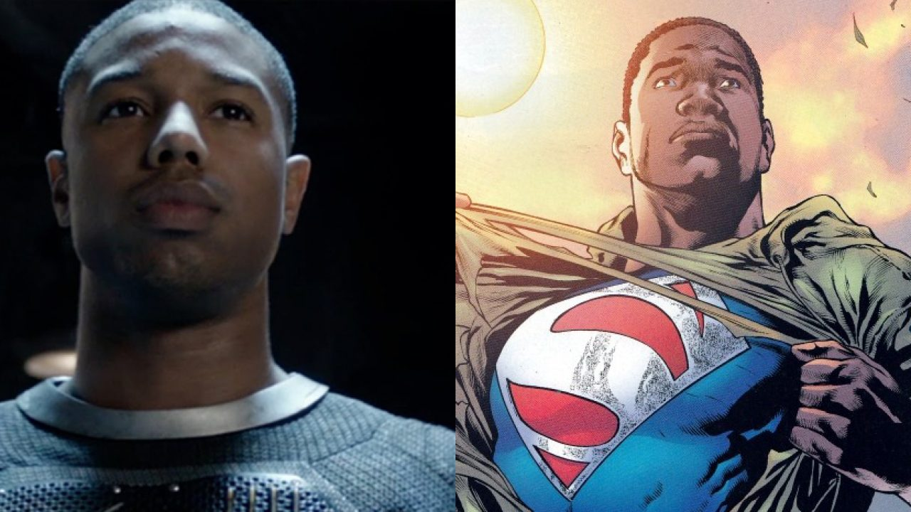 See Michael B Jordan As Superman Val-Zod To Replace Henry Cavill