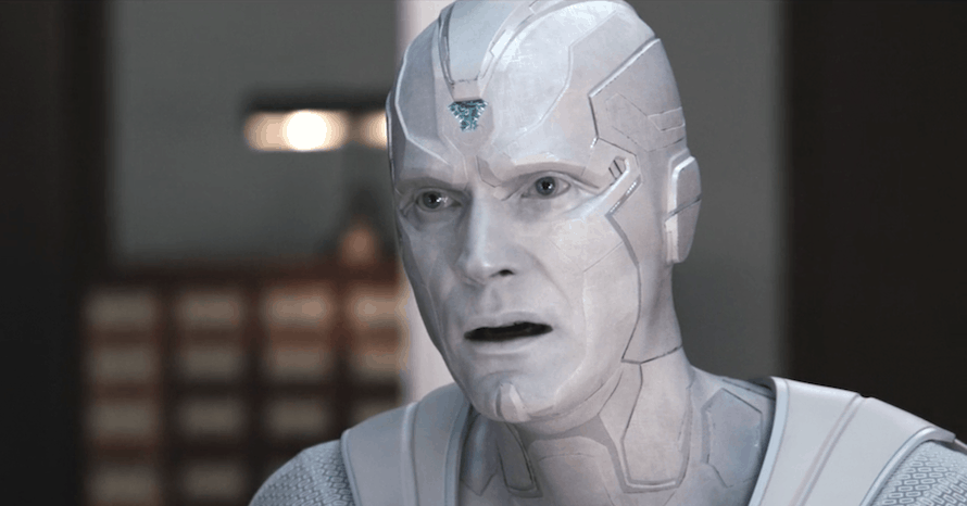 Avengers Infinity War Paul Bettany White Vision WandaVision MCU Marvel