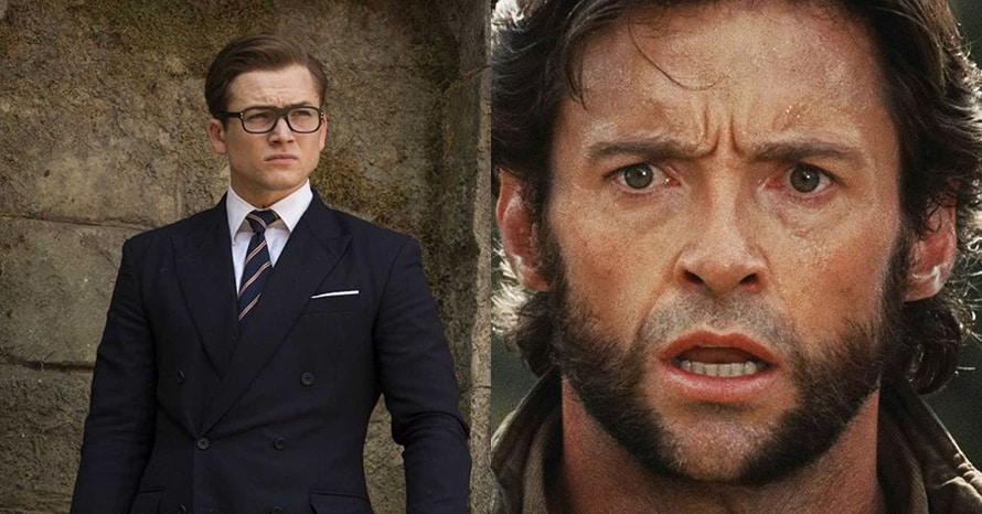 Wolverine Taron Egerton Hugh Jackman MCU
