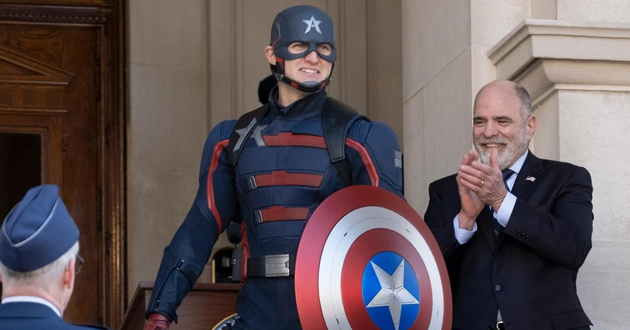 Wyatt Russell Falcon Winter Soldier Captain America