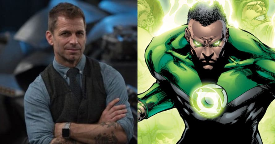 'Justice League': Zack Snyder Reveals Identity Of Cut Green Lantern Actor