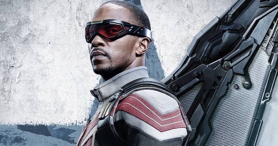 Anthony Mackie Falcon WInter Soldier