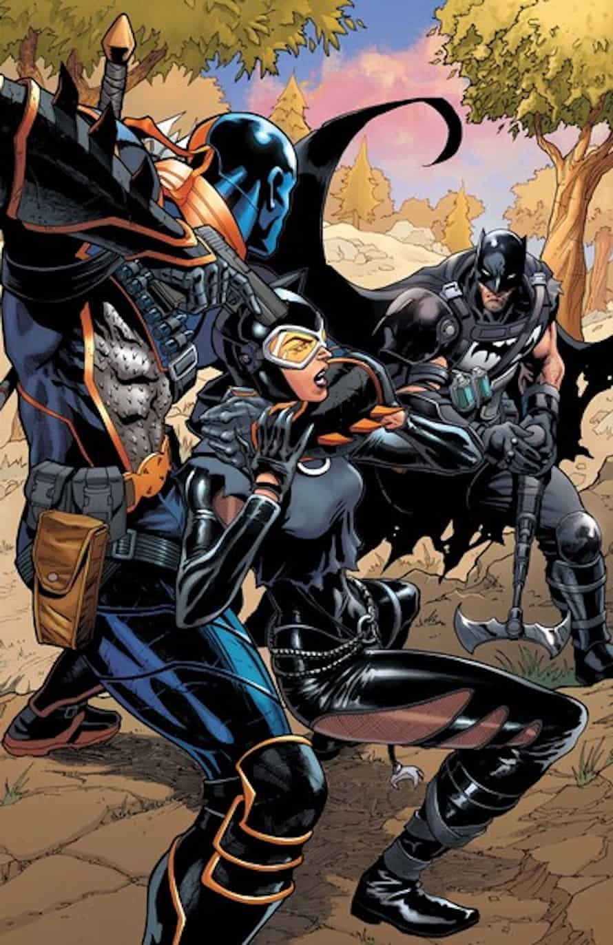 Batman Fortnite Deathstroke 1