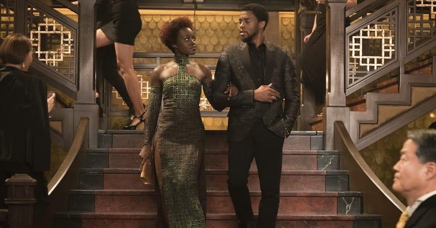 Black Panther 2 Lupita Nyong'o Chadwick Boseman