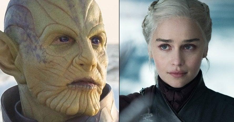 'Secret Invasion' actress Emilia Clarke on the show's intense secret