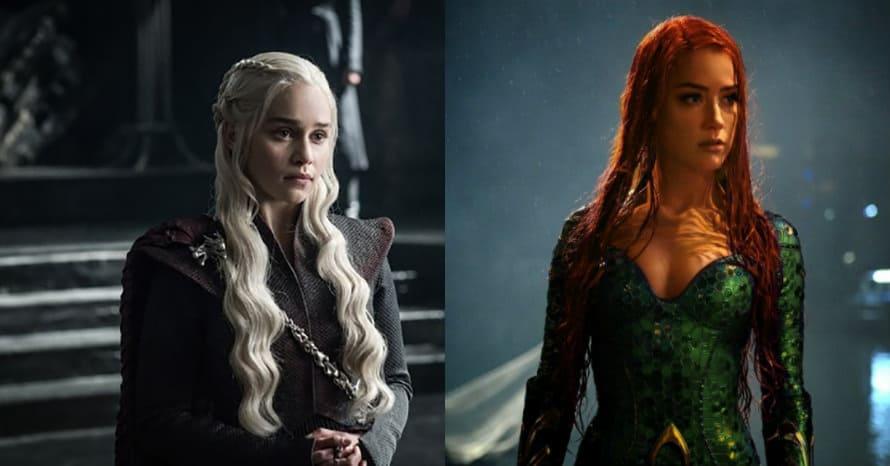 See Emilia Clarke Replace Amber Heard As Aquaman 2's Mera In New Image