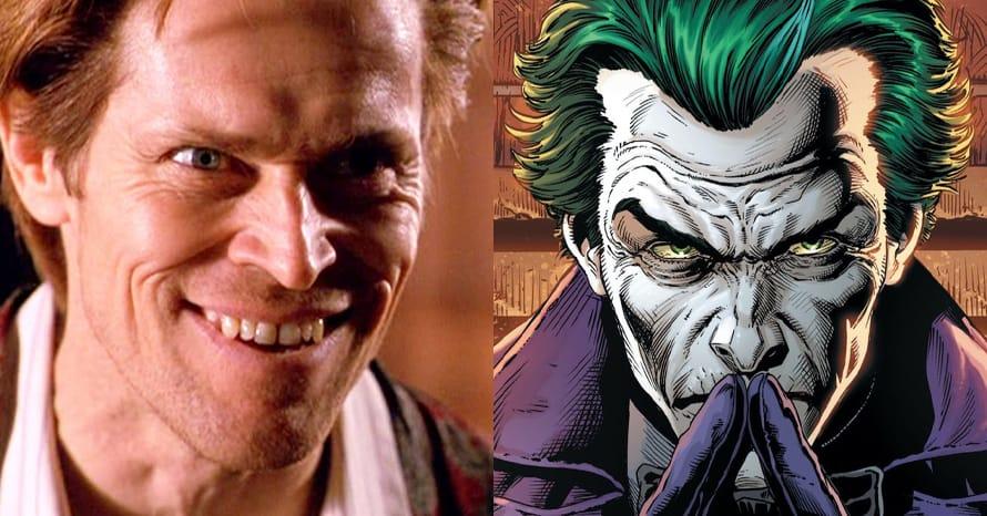 Joker Willem Dafoe The Batman Robert Pattinson