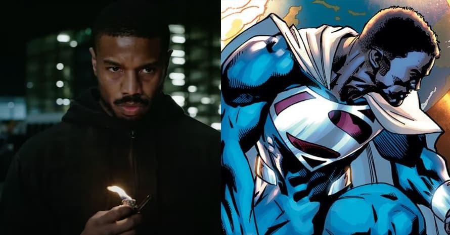 Michael B Jordan Henry Cavill Superman Val-Zod Static Shock