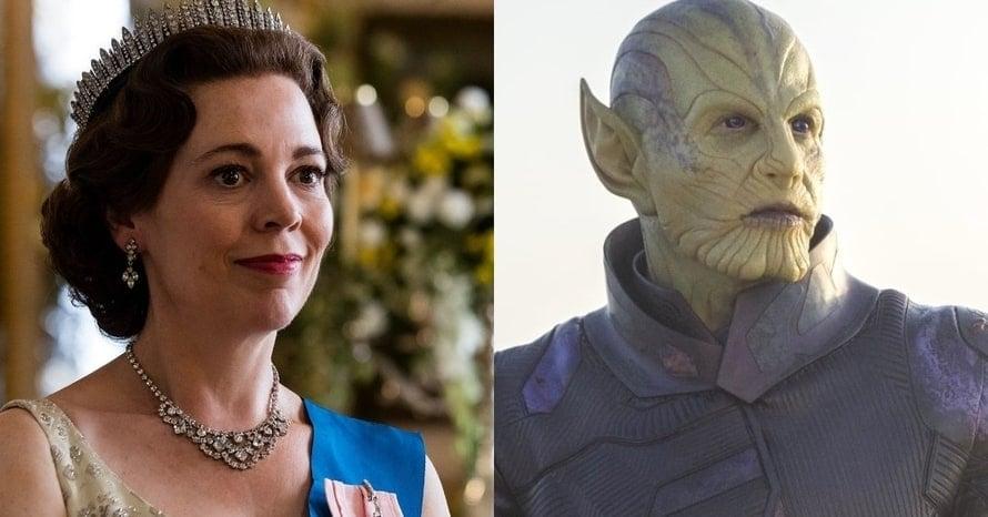 Olivia Colman Secret Invasion Disney Plus Captain Marvel Talos