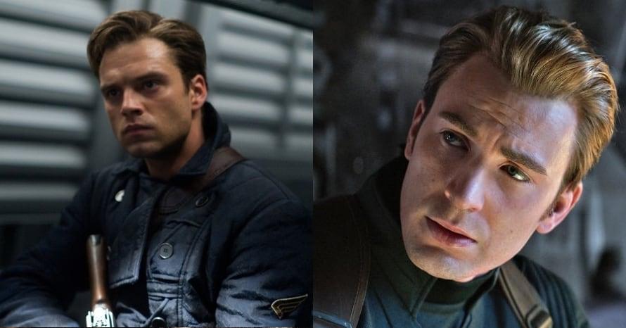 Sebastian Stan Chris Evans Captain America