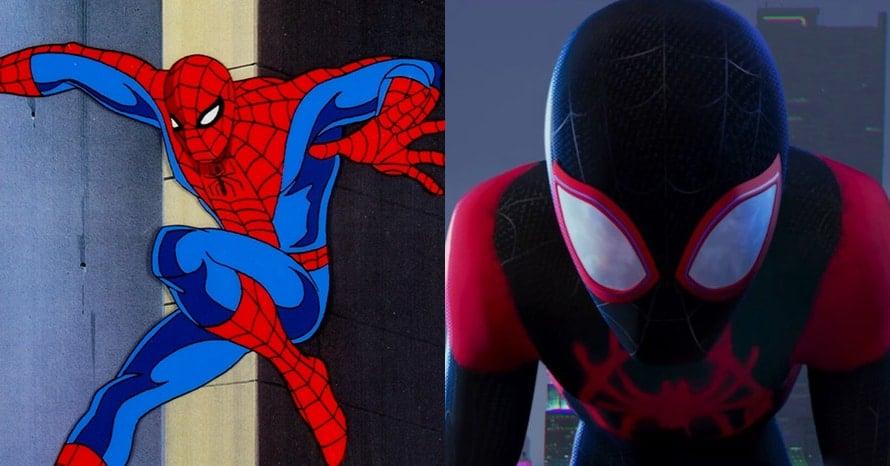 Spider-Man Into the Spider-Verse debunk