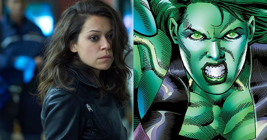 See Tatiana Maslany Suit Up For The 'She-Hulk' Disney Plus Series