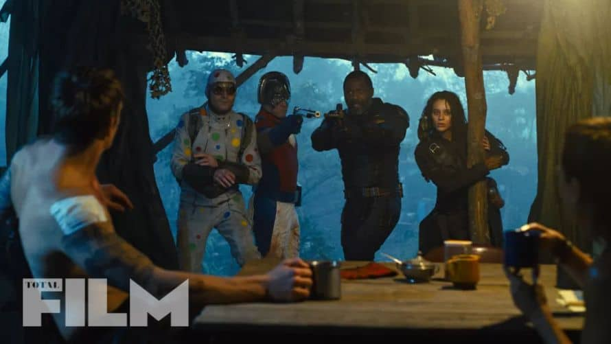The Suicide Squad Idris Elba John Cena David Dastmalchian Daniela Melchior
