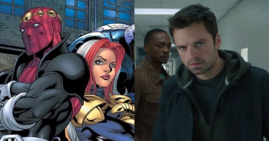 Thunderbolts Falcon Winter Soldier
