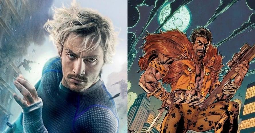 Aaron Taylor-Johnson Kraven the Hunter Sony Marvel Spider-Man Avengers