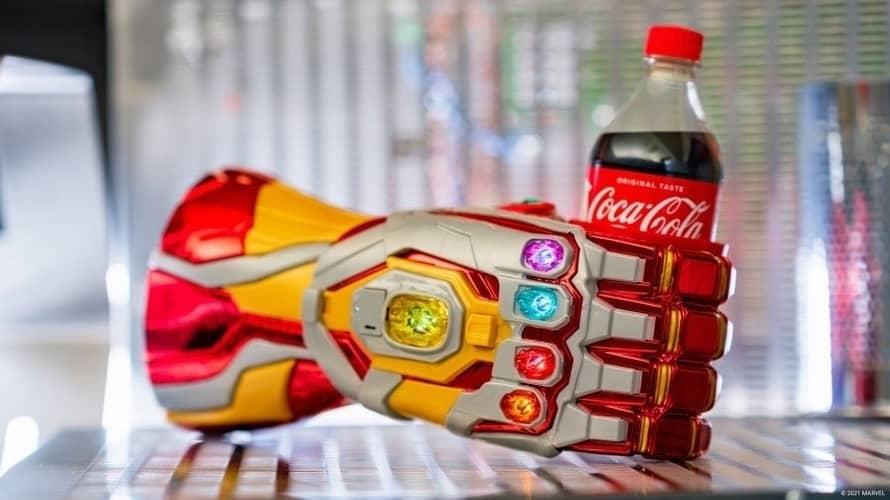 Avengers Campus Iron Man Infinity Gauntlet Disneyland