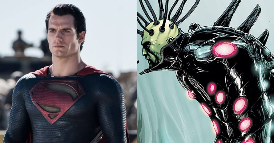Henry Cavill Man of Steel 2 Zack Snyder Brainiac