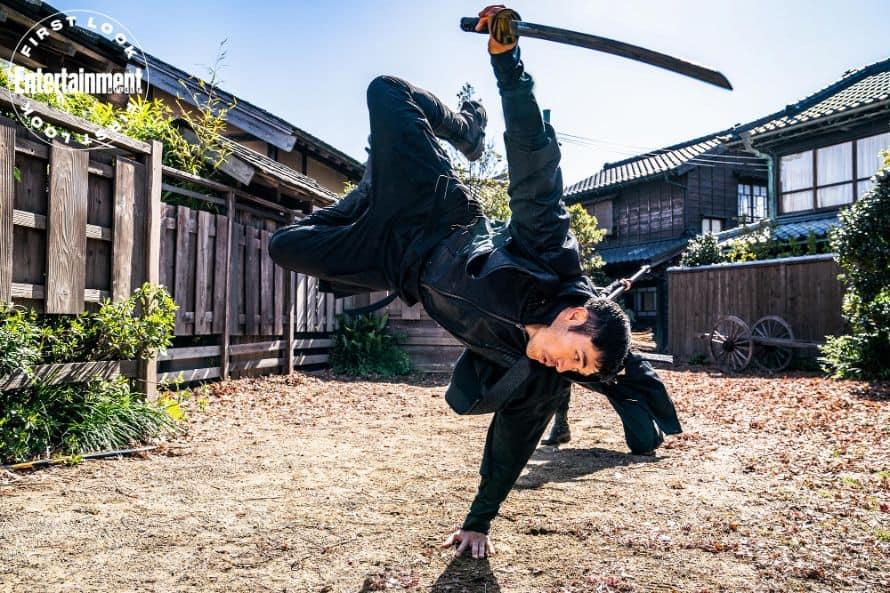 Henry Golding Snake Eyes Andrew Koji G.I. Joe