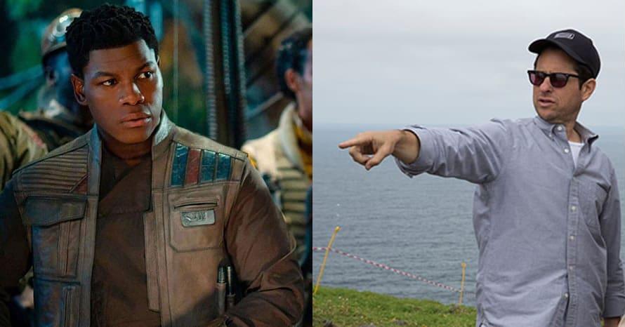 John Boyega JJ Abrams Star Wars